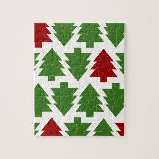 Weihnachtsbaum-Feiertag Puzzle