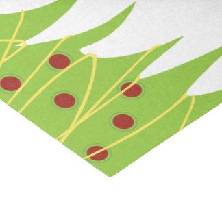 Weihnachtsbaum-Feiertags-Seidenpapier Seidenpapier