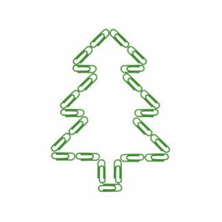 Weihnachtsbaum Freistehende Fotoskulptur