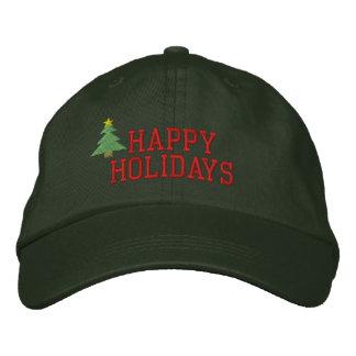Weihnachtsbaum-gestickter Hut Besticktes Baseballcap