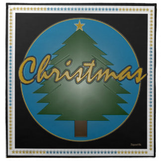 Weihnachtsbaum-Grafiken Serviette