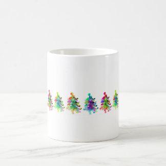 Weihnachtsbaum-Grenzbecher Kaffeetasse