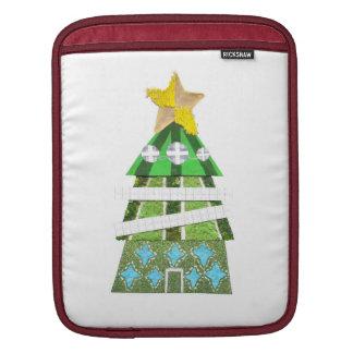 Weihnachtsbaum-Hotel Ich-Auflage Hülse iPad Sleeve