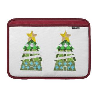 Weihnachtsbaum-Hotel Macbook Luft-Hülse Sleeve Fürs MacBook Air