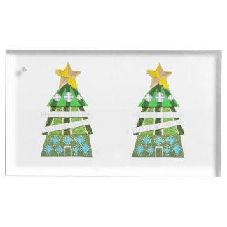 Weihnachtsbaum-Hotel-Tabellen-Kartenhalter Tischnummernhalter