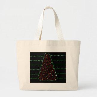 Weihnachtsbaum Jumbo Stoffbeutel