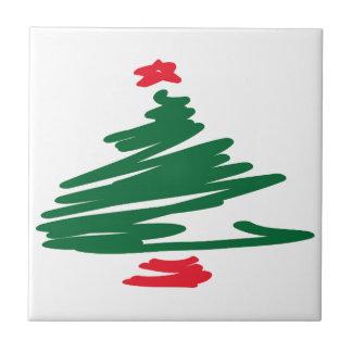 Weihnachtsbaum Kleine Quadratische Fliese