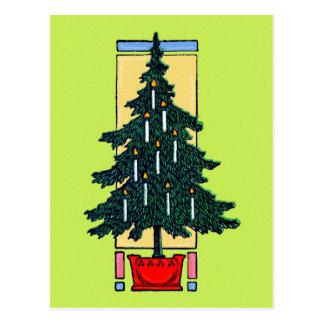 Kerzen weihnachten postkarten for Weihnachtsbaum fa r fensterbank