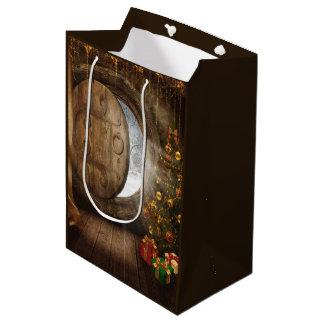 Weihnachtsbaum-mittlere Geschenk-Tasche Mittlere Geschenktüte