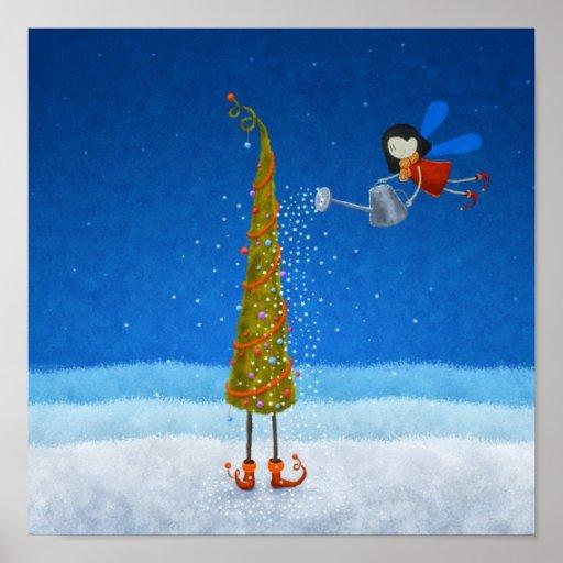 Weihnachtsbaum Plakate