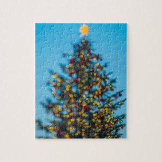 Weihnachtsbaum Puzzle