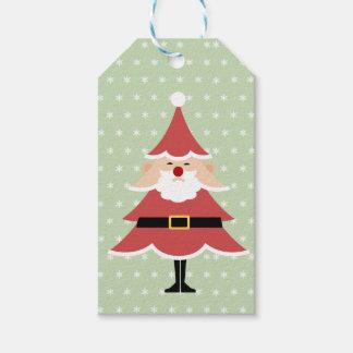 Weihnachtsbaum-Sankt-Geschenk-Umbauten Geschenkanhänger