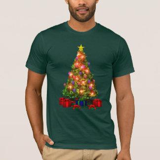 Weihnachtsbaum-Schein-T - Shirt
