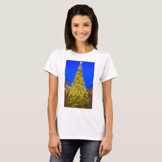 Weihnachtsbaum-Shirt der Frauen T-Shirt