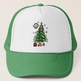 Weihnachtsbaum Truckerkappe