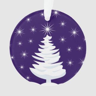Weihnachtsbaum u. Stern-Kreis-Verzierung, Ornament