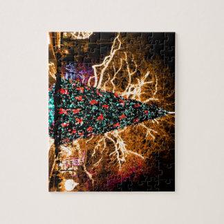 Weihnachtsbaum- und Lichtfeier Puzzle