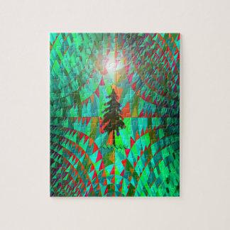Weihnachtsbaum verloren im Raum… Puzzle
