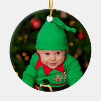 Weihnachtsbaum-Verzierung - Baby Rundes Keramik Ornament