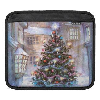Weihnachtsbaum Vintag iPad Sleeve