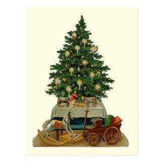 """""""Weihnachtsbaum-"""" Vintage Postkarte"""