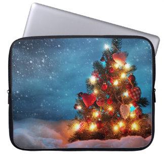 Weihnachtsbaum - Weihnachtsdekorationen - Laptop Sleeve