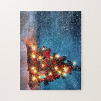 Weihnachtsbaum - Weihnachtsdekorationen - Puzzle