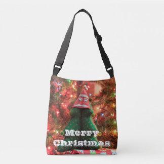 Weihnachtsbaum-WeihnachtsTaschen-Tasche Tragetaschen Mit Langen Trägern