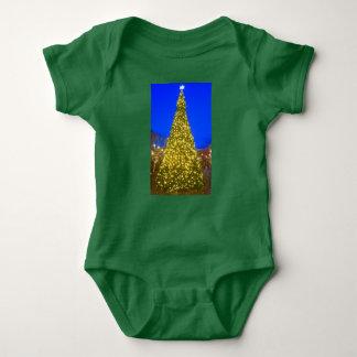 Weihnachtsbaumbodysuit für Baby Baby Strampler