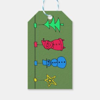 Weihnachtsbaumdekorationen Geschenkanhänger