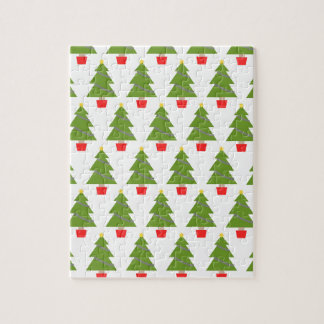 Weihnachtsbäume Puzzle