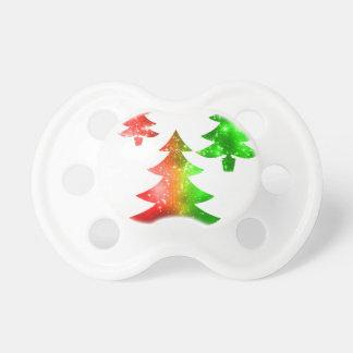 Weihnachtsbäume Schnuller