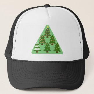 Weihnachtsbäume Truckerkappe