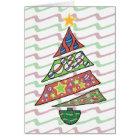 Weihnachtsbaumkarte Karte
