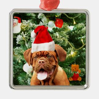 Weihnachtsbaumsnowman-Geschenkboxen Dogue de Silbernes Ornament