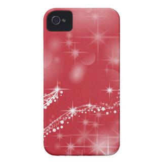 Weihnachtsbevorzugungsrot iPhone 4 Hülle