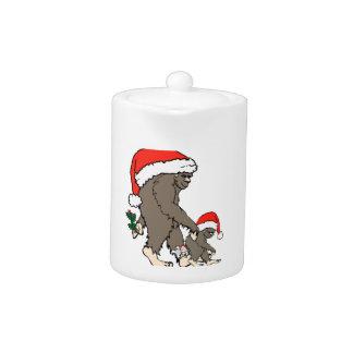 Weihnachtsbigfoot-Familie