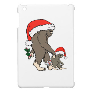 Weihnachtsbigfoot-Familie iPad Mini Hülle