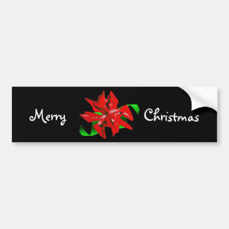 WeihnachtsBlumen-Autoaufkleber - kundengerecht