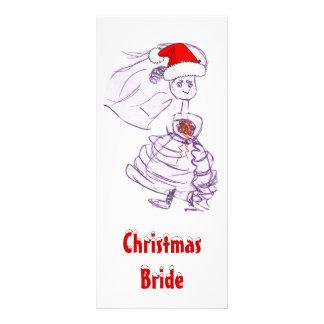 Weihnachtsbraut Werbekarte