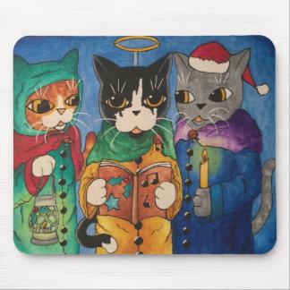 Weihnachtscarol-Sänger Mousepad