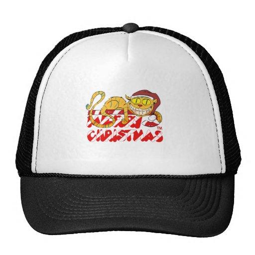 Weihnachtscheshire-Katze Baseball Cap