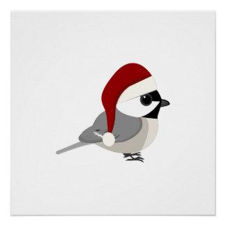 WeihnachtsChickadee Poster