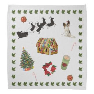 Weihnachtscollage Halstuch