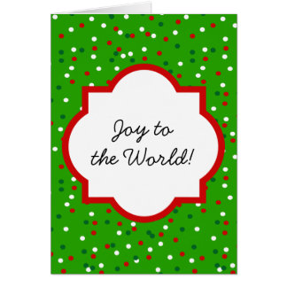 WeihnachtsConfetti • Traditionelle Karten