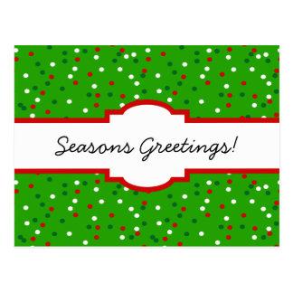 WeihnachtsConfetti • Traditionelle Postkarten