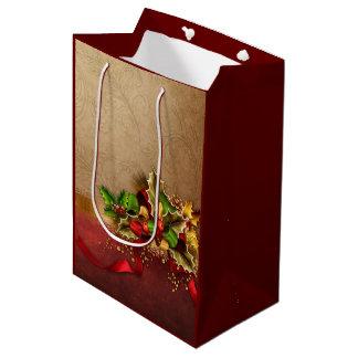 Weihnachtsdekor-mittlere Geschenk-Tasche Mittlere Geschenktüte
