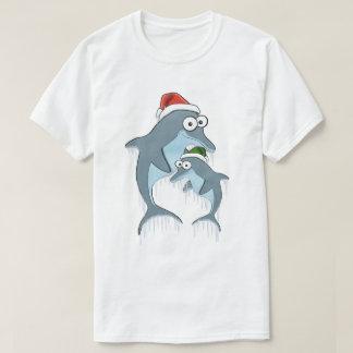 Weihnachtsdelphin-T - Shirt