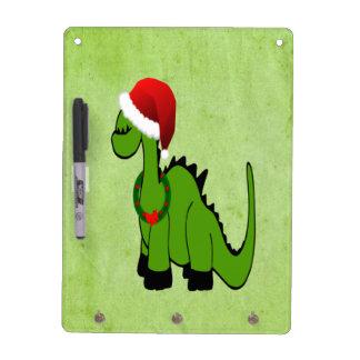 Weihnachtsdinosaurier Memoboard