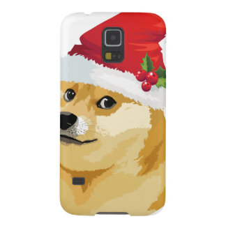 Weihnachtsdoge - Sanktdoge - Weihnachtshund Samsung S5 Cover